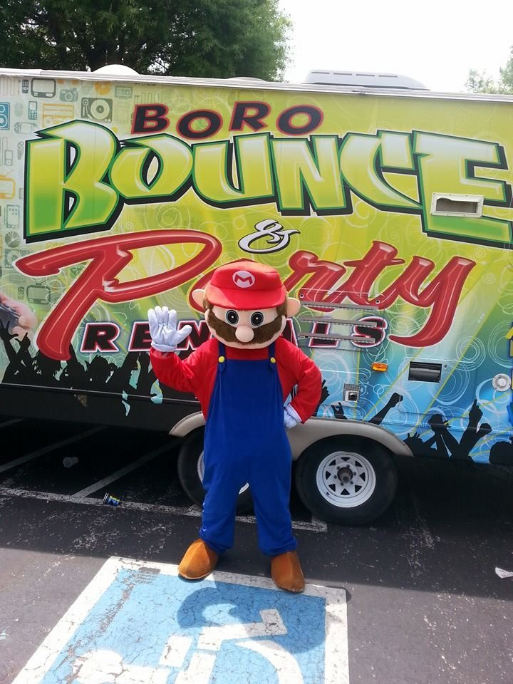Boro Bounce and Party Rentals Mobile Video Game Truck