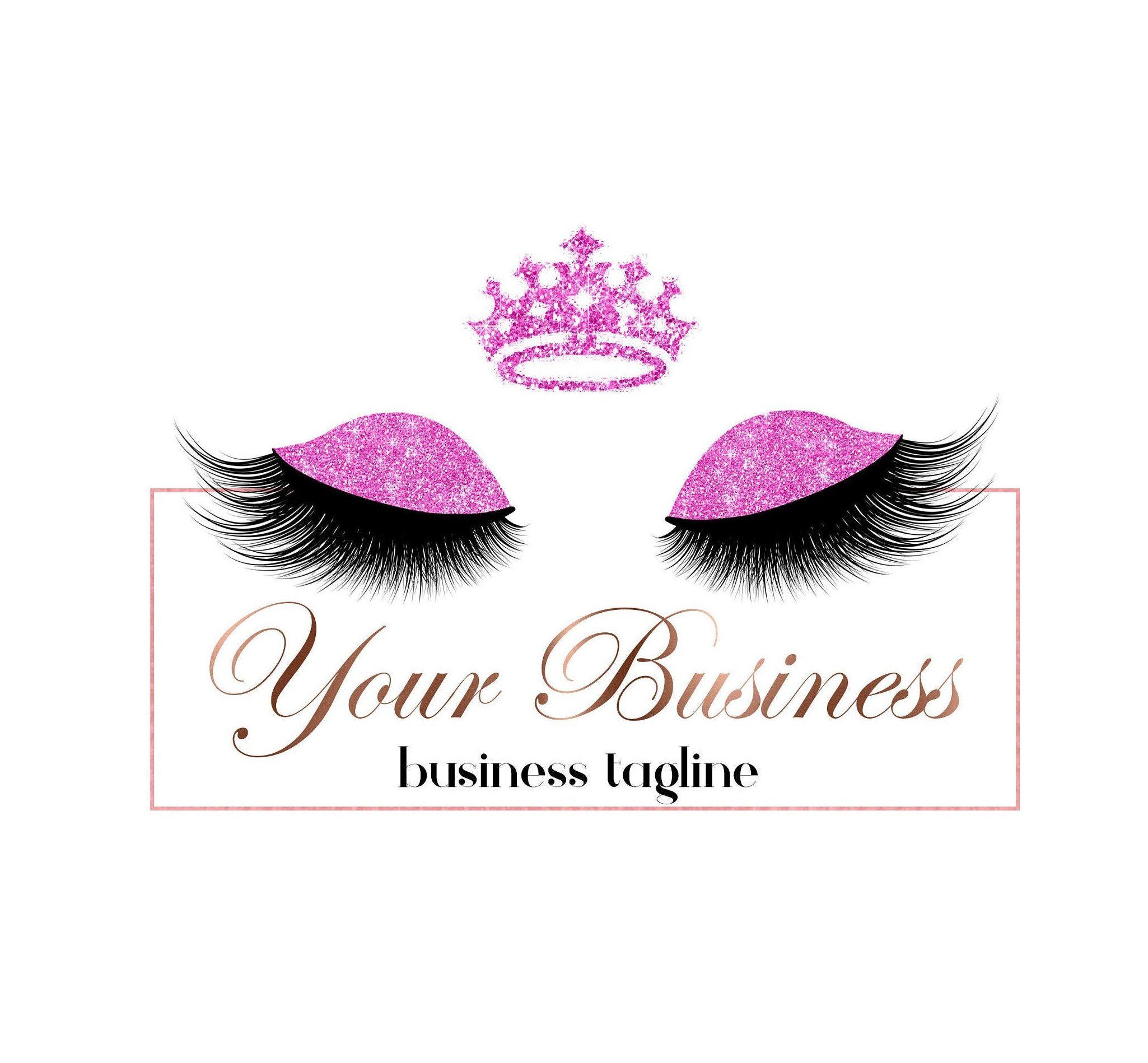 Salon Logo, Makeup Logo, Lashes Logo, Eyelashes Logo, Lash