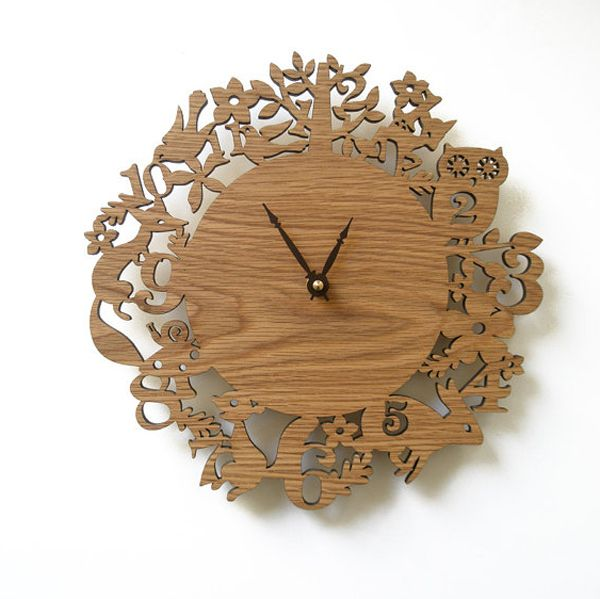 Decorative Clocks For Walls wooden-wall-clock-decor | clock | pinterest | wall clock decor