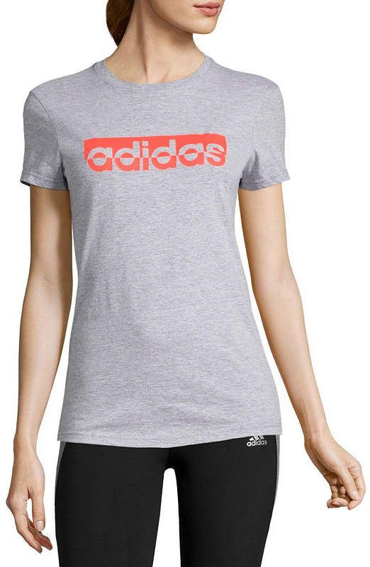 98323174e3df adidas Short Sleeve Crew Neck T-Shirt-Womens | Pinterest | Adidas ...