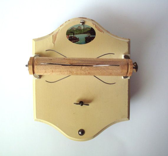 Vintage Whistle While You Work Musical Toilet Roll Holder By Poorlittlerobin 20 00