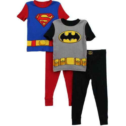 Baby Boys DC Comics Superman Clothing 2 Pack Pyjama Set Superman Character