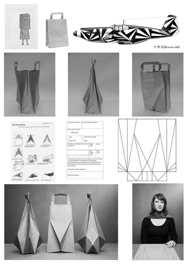How to make an Origami Gift Bag - Instructions in English (BR ...   849x600