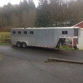 4 horse Featherlight Gooseneck Horse for sale in Arlington, Washington :: HorseClicks
