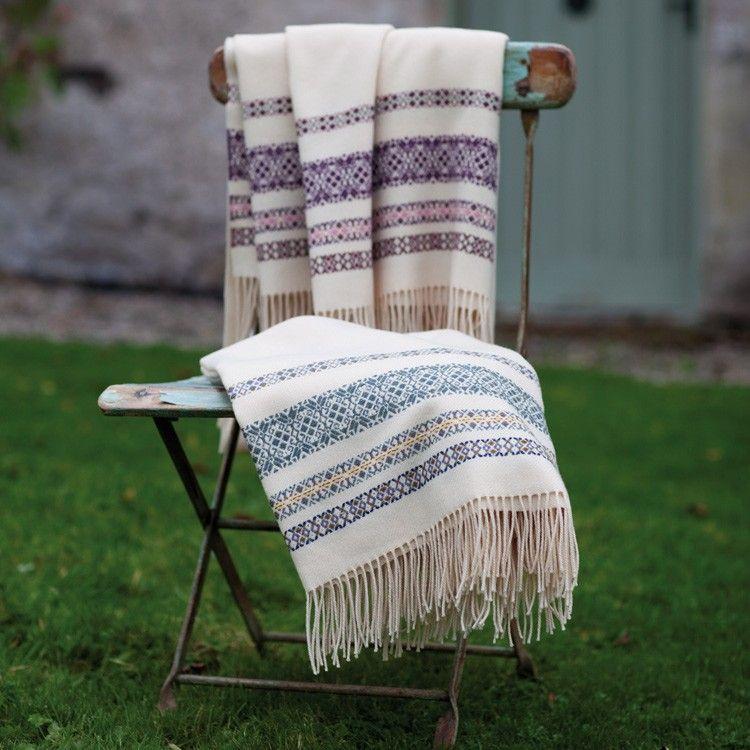 fair isle throw | Craft Ideas | Pinterest | Fair isles, Fabric ...