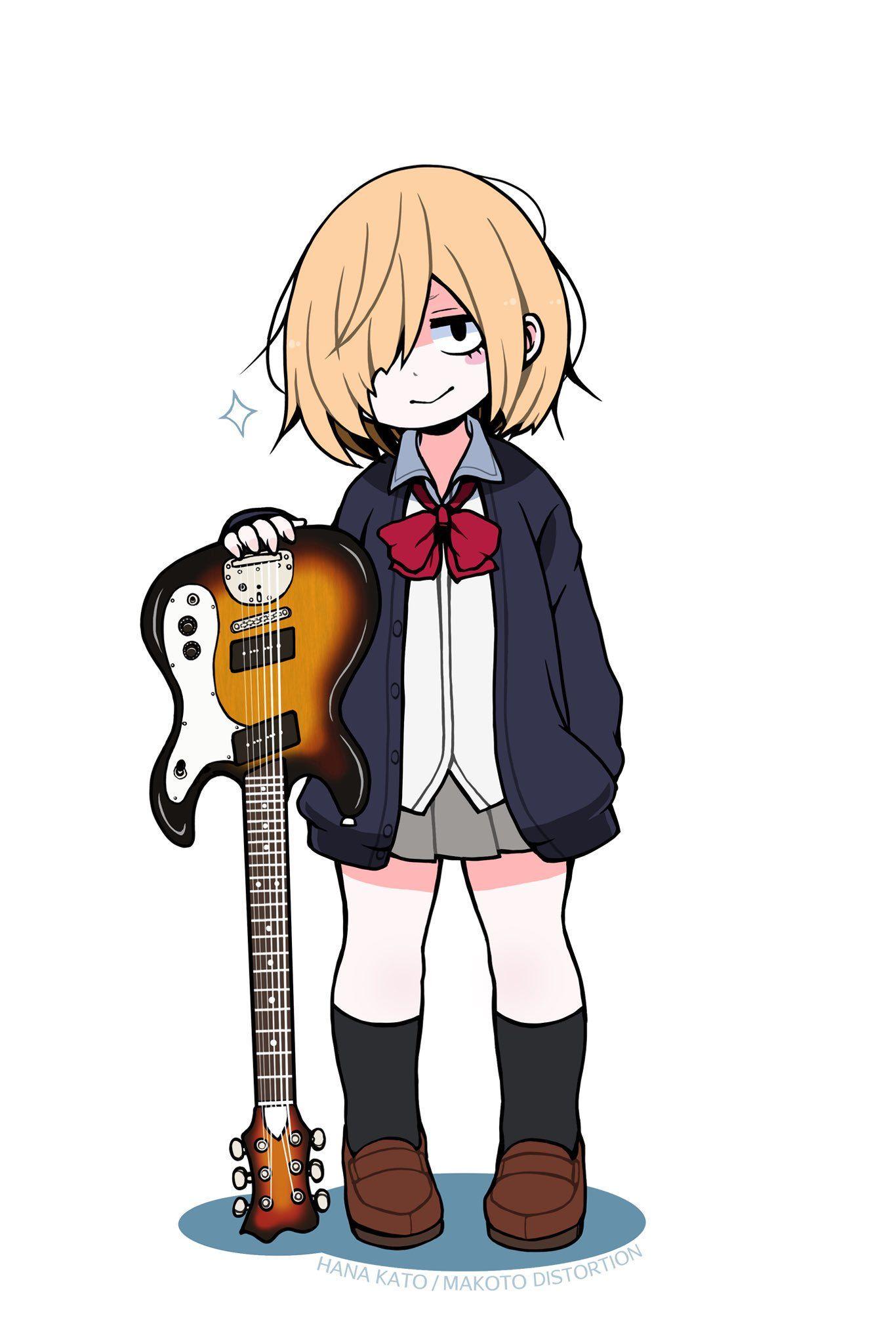 とまん/TOMAN ROCK on 漫画, イラスト, ギター