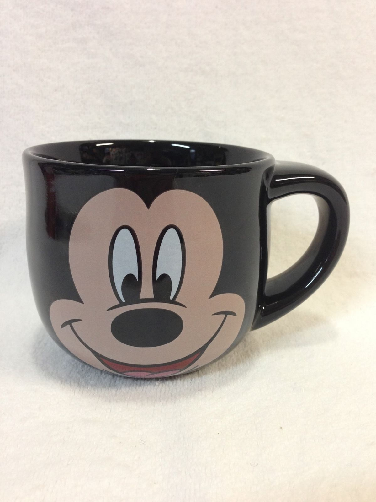 MICKEY MOUSE Face THE DISNEY STORE Mug Large Coffee Tea