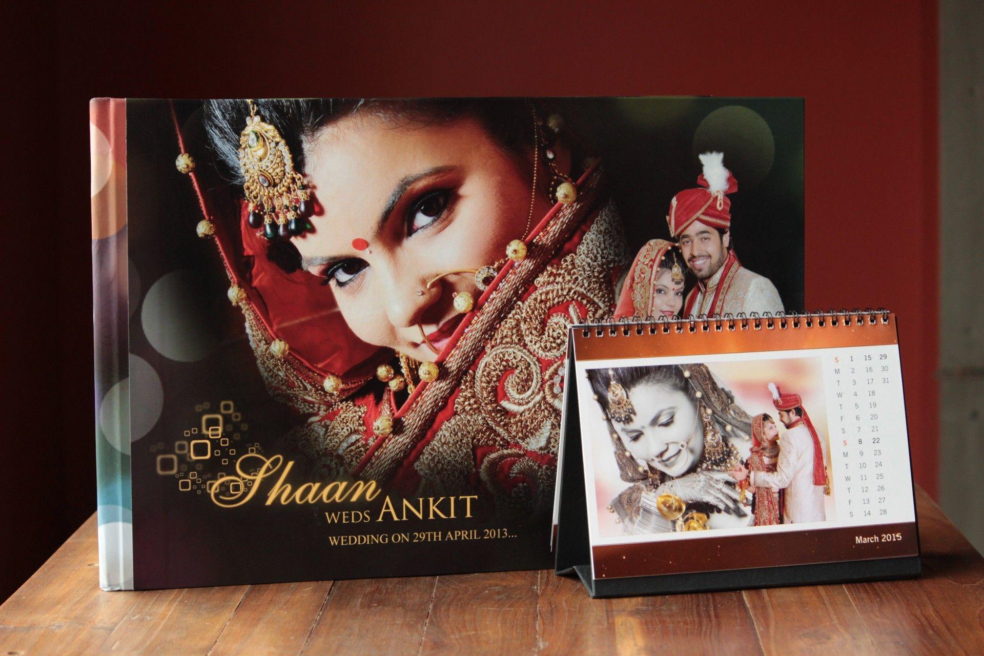 indian wedding photography design%0A Photo Wall Calendar  Custom Photo wall Calendar  Photo Book  Wedding Album  Design