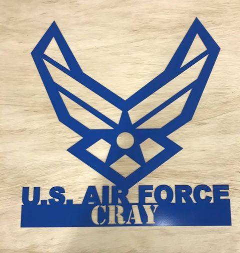 Air Force Sign Custom Custom Sign Air Force Custom