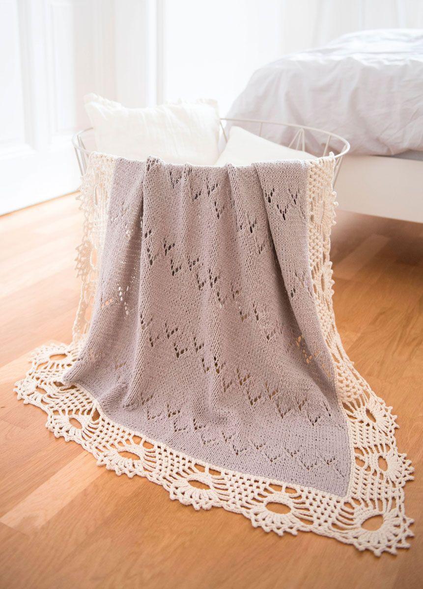 Lana Grossa Decke Organico Upcycling Ideas Crochet Borders And
