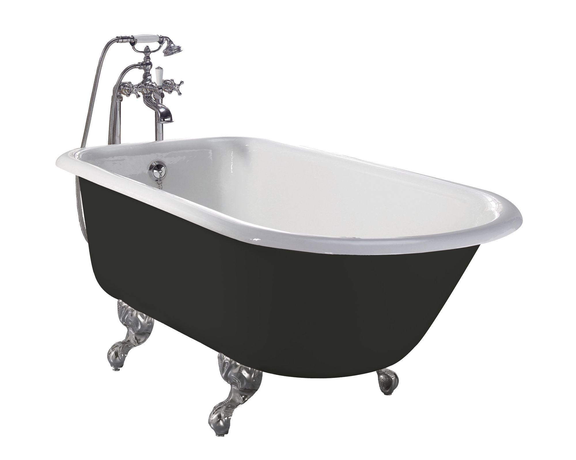 Freistehende Gusseisenbadewanne Traditional Bathrooms Vintage Badewanne Vintagebad Vintage Bad Vint Gusseisen Badewanne Viktorianisches Badezimmer Wanne