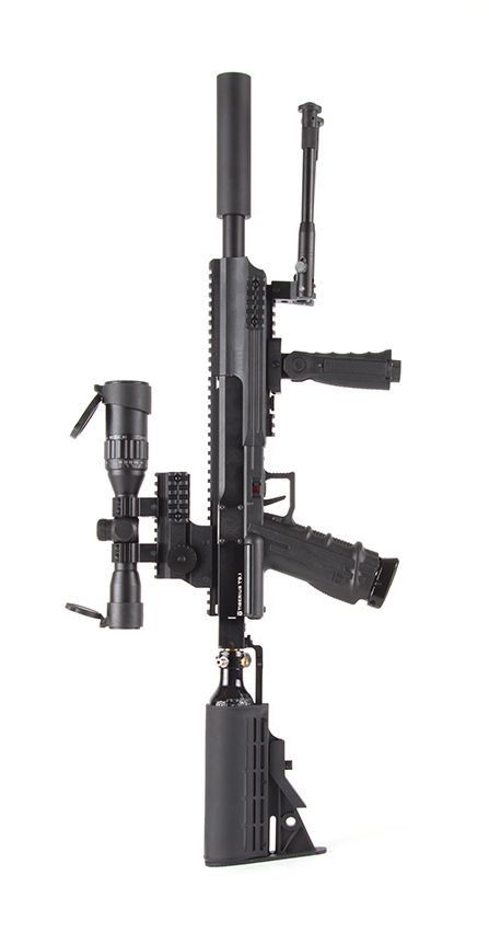Tiberius Arms T9 1 Sniper Paintball Magfed Marker Scenario