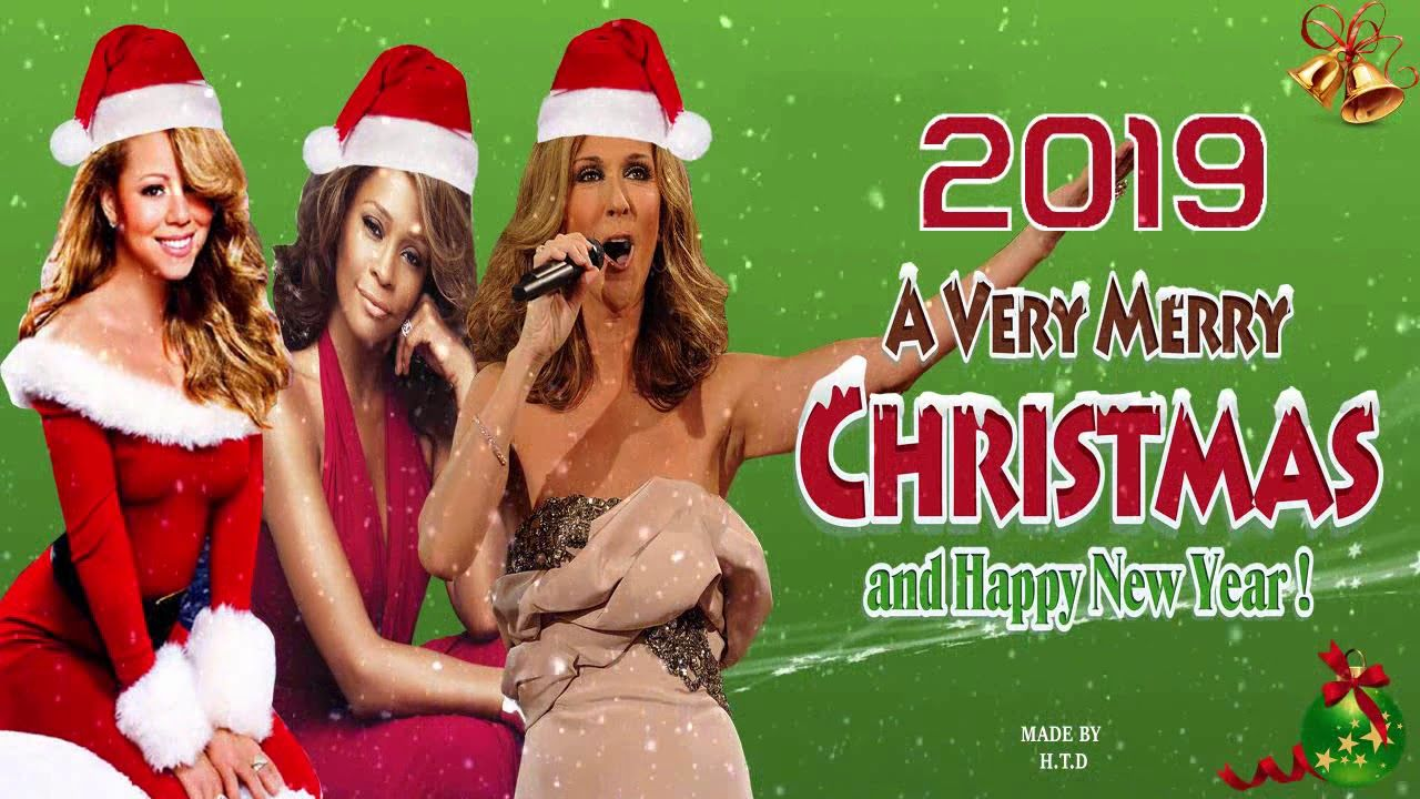 Best Christmas Songs Of Mariah Carey Celine Dion Whitney Houston Top Best Christmas Songs Youtube Celine Dion
