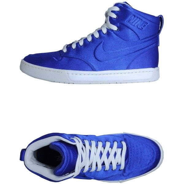 NIKE SPORTWEAR High-tops ($98) found on Polyvore