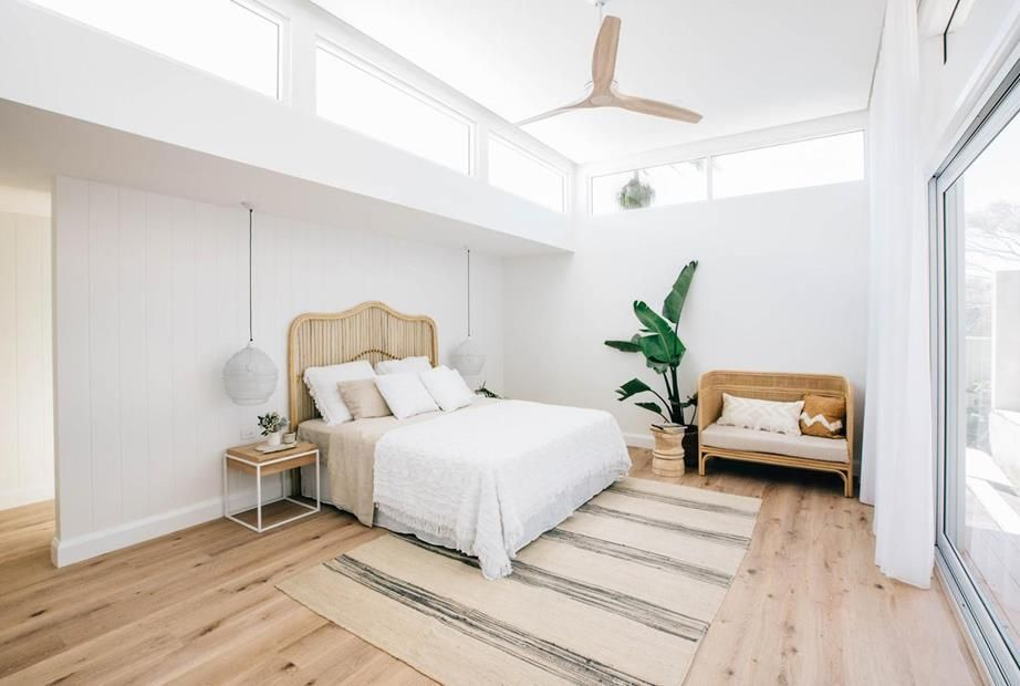 Kyal Kara S Long Jetty Renovation Has Sold At Auction In 2020 Coastal Bedroom Decorating Home Decor Bedroom Bedroom Decor