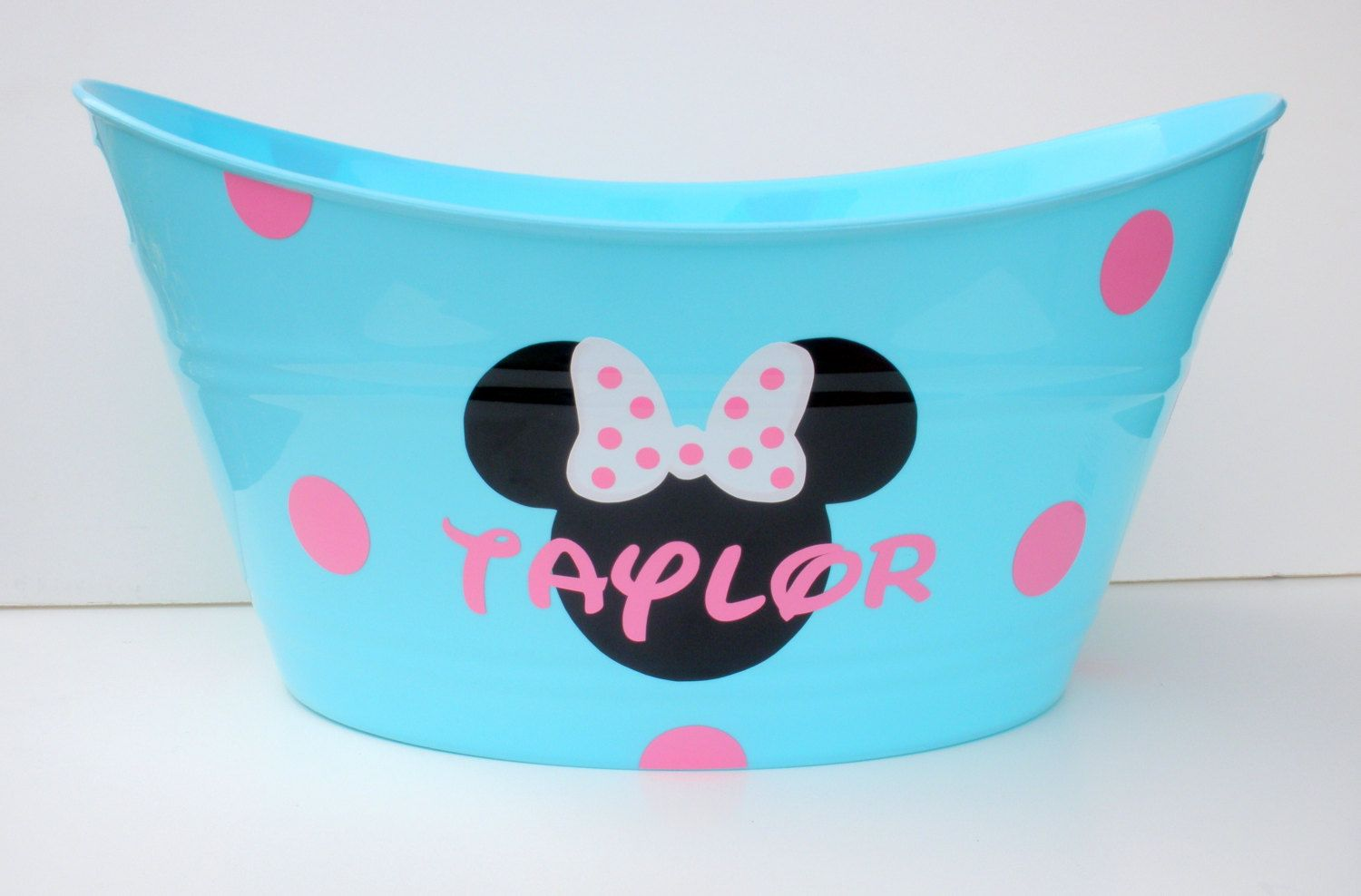 Personalized Minnie Mouse Storage Tub / Easter Basket ... - photo#47