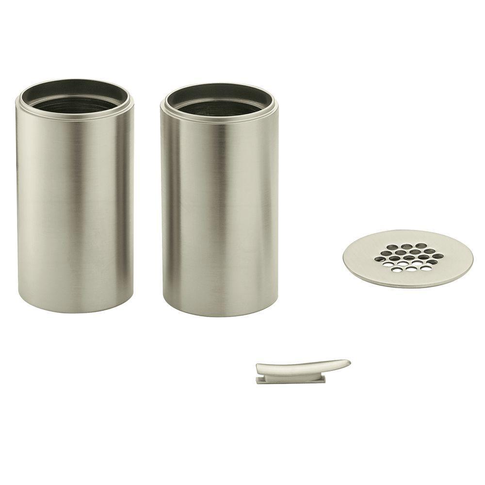 Moen Kingsley Vessel Faucet Extension Kit In Brushed Nickel