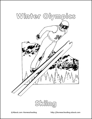Learn About Trains With A Free Printable Train Coloring Book Winter Olympics Winter Sports Preschool Olympics