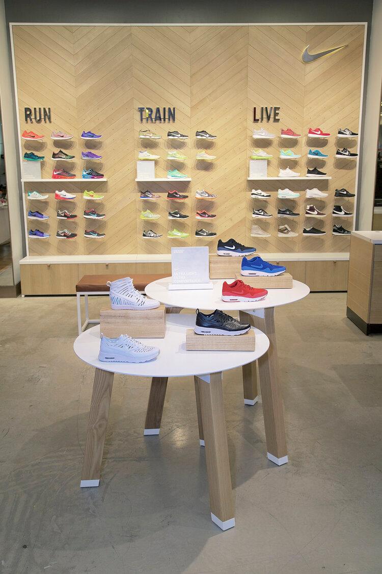 Nike Women at Bloomingdale's — myates #nike #retaildesign