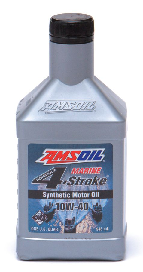 Amsoil 10w 40 Synthetic Formula 4 Stroke Marine Oil For Use In 4