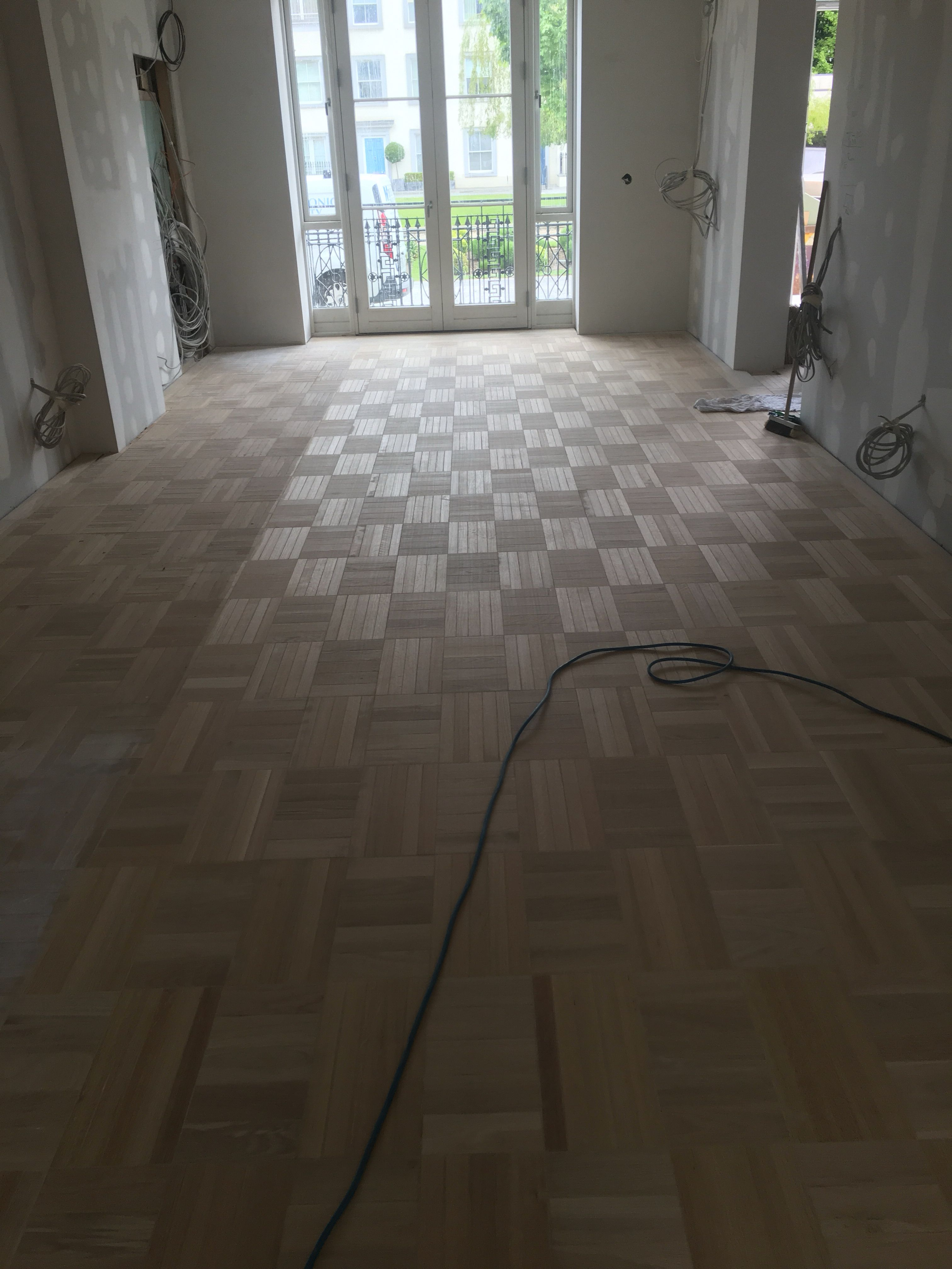 6mm Oak Glued And Pinned Onto 15mm Birch Plywood Hardwood Floors Flooring Birch Plywood
