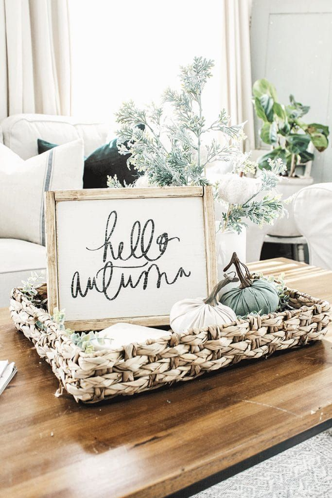Photo of Our Fall Home Tour- Fall Decor Ideas