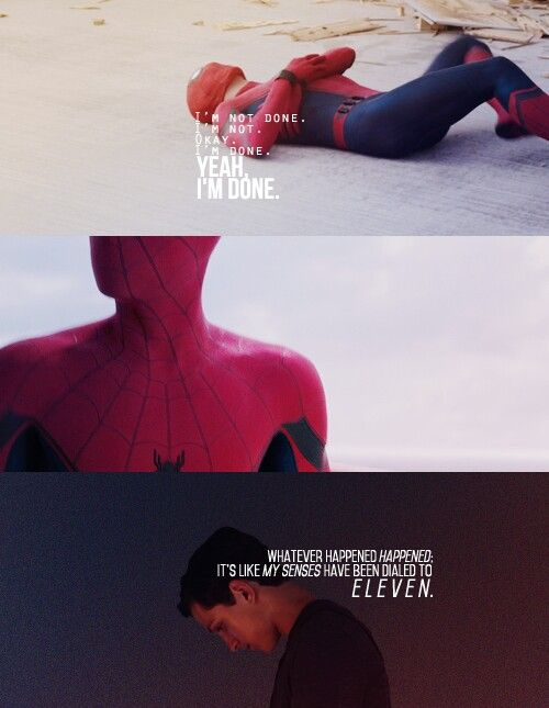 Peter Parker | SpiderMan | Homecoming | Tumblr | endgame