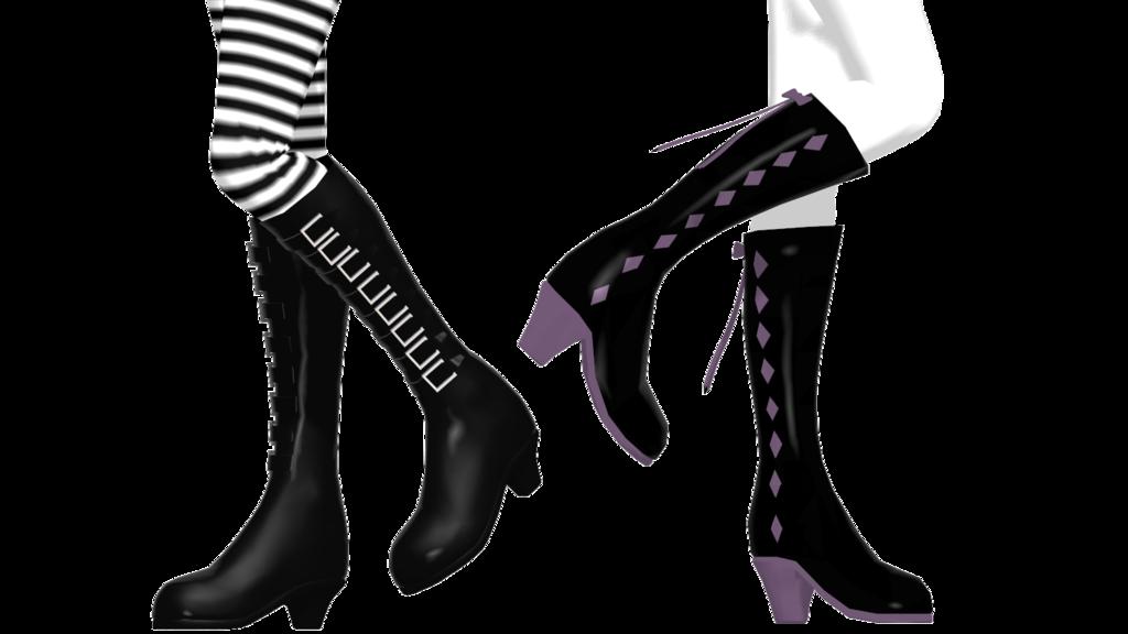 64ae692de alice + homura boots (dl) by https   akemiwhy.deviantart.