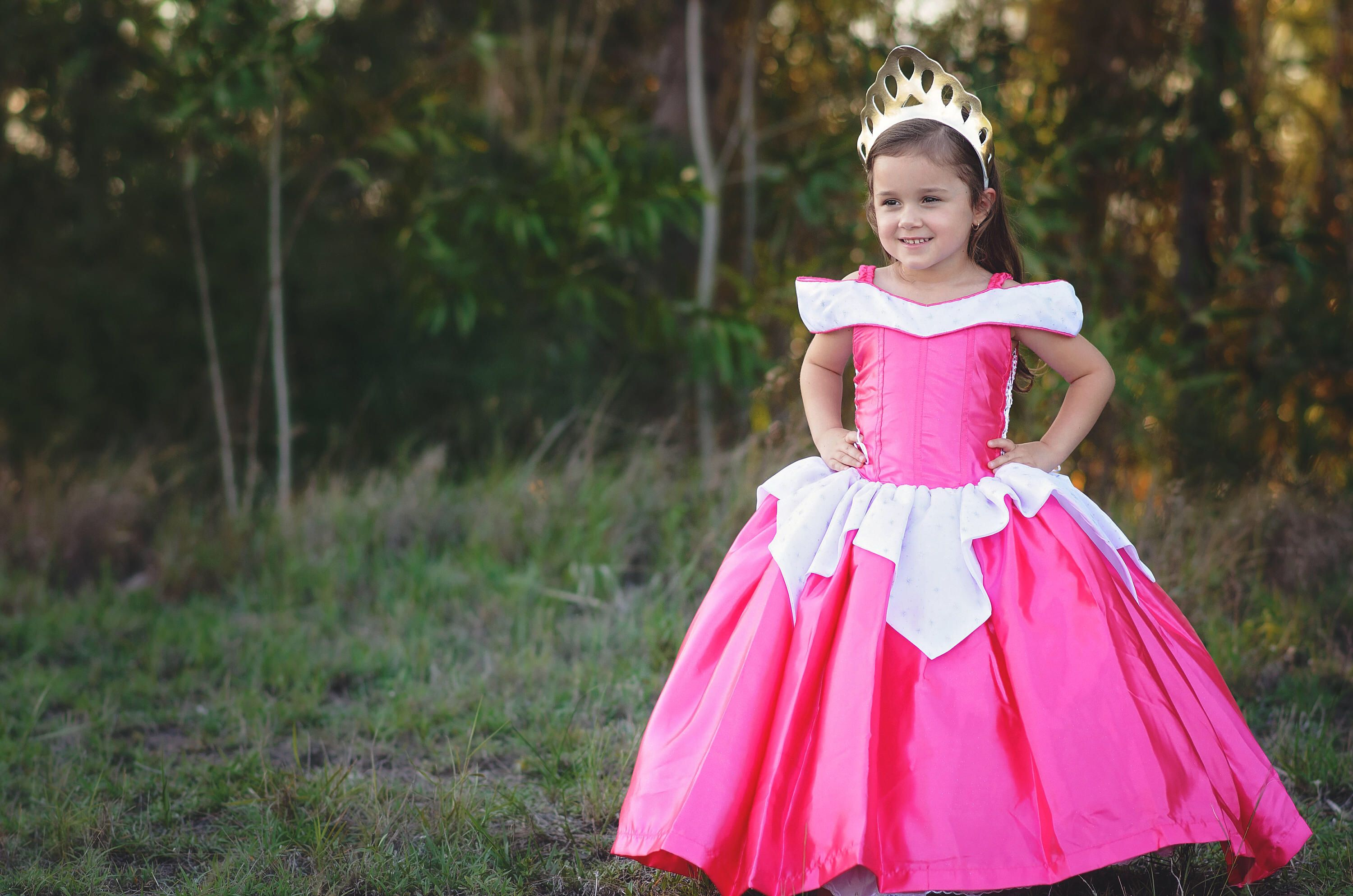 Princess Aurora Dress / Disney Sleeping Beauty Inspired Costume / Ball gown style for toddler child girl baby by MagicalWishBoutique on Etsy ...  sc 1 st  Pinterest : toddler aurora costume  - Germanpascual.Com