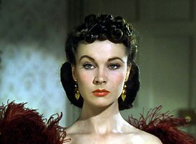 """vivien leigh in """"gone with the wind"""""""