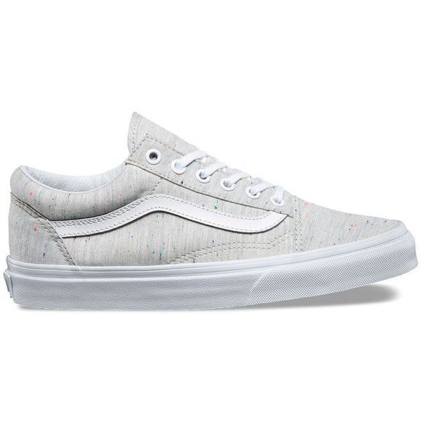 Vans Speckle Jersey Old Skool ( 65) ❤ liked on Polyvore featuring shoes 9643c4915