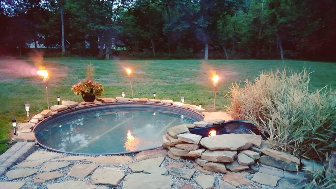 As The Temperature Increases So Do Our Daydreams About Stepping Out Our Back Door And Slipping Into The Backyard Pool Stock Tank Swimming Pool Stock Tank Pool