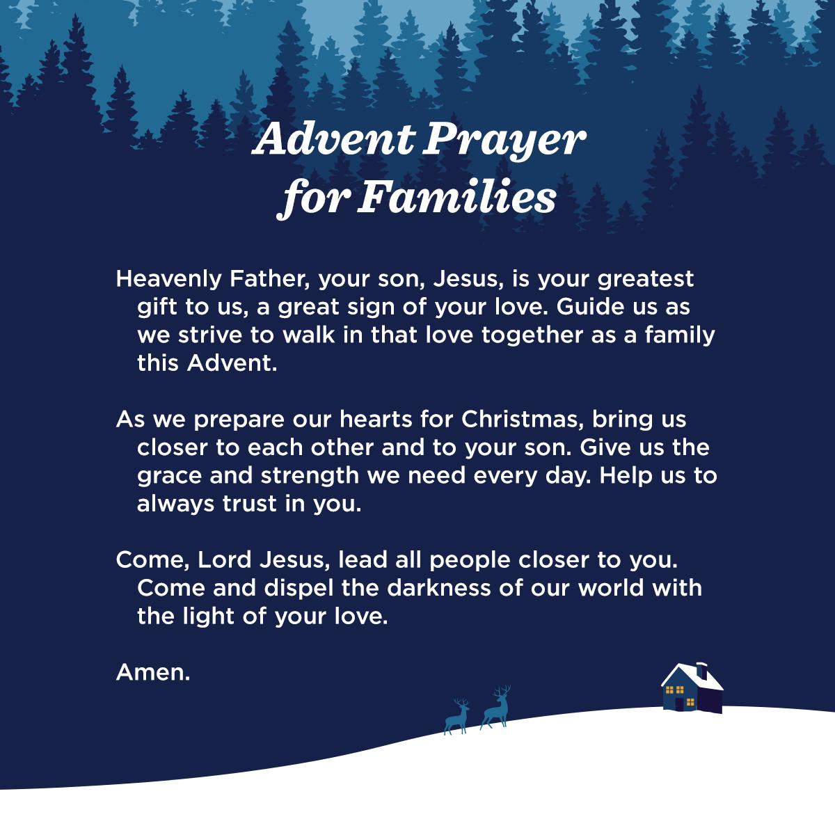 Catholic Advent Prayers Best Advent Ever Prayer For Family Advent Prayers Advent Prayers Catholic