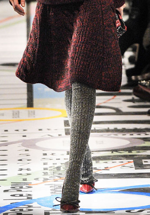 8d0eae748 Prada Fall 2010 Ribbed Knee-High Wool Socks Profile Photo