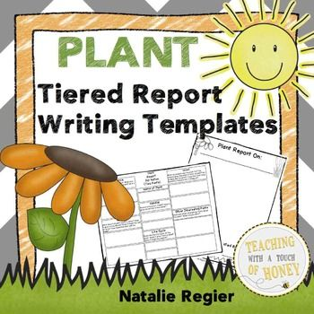 Tiered Report Writing Templates To Support Students As They