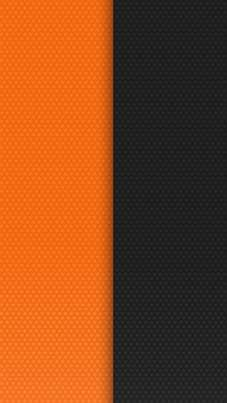 Half Orange Half Black Black wallpaper, Orange wallpaper