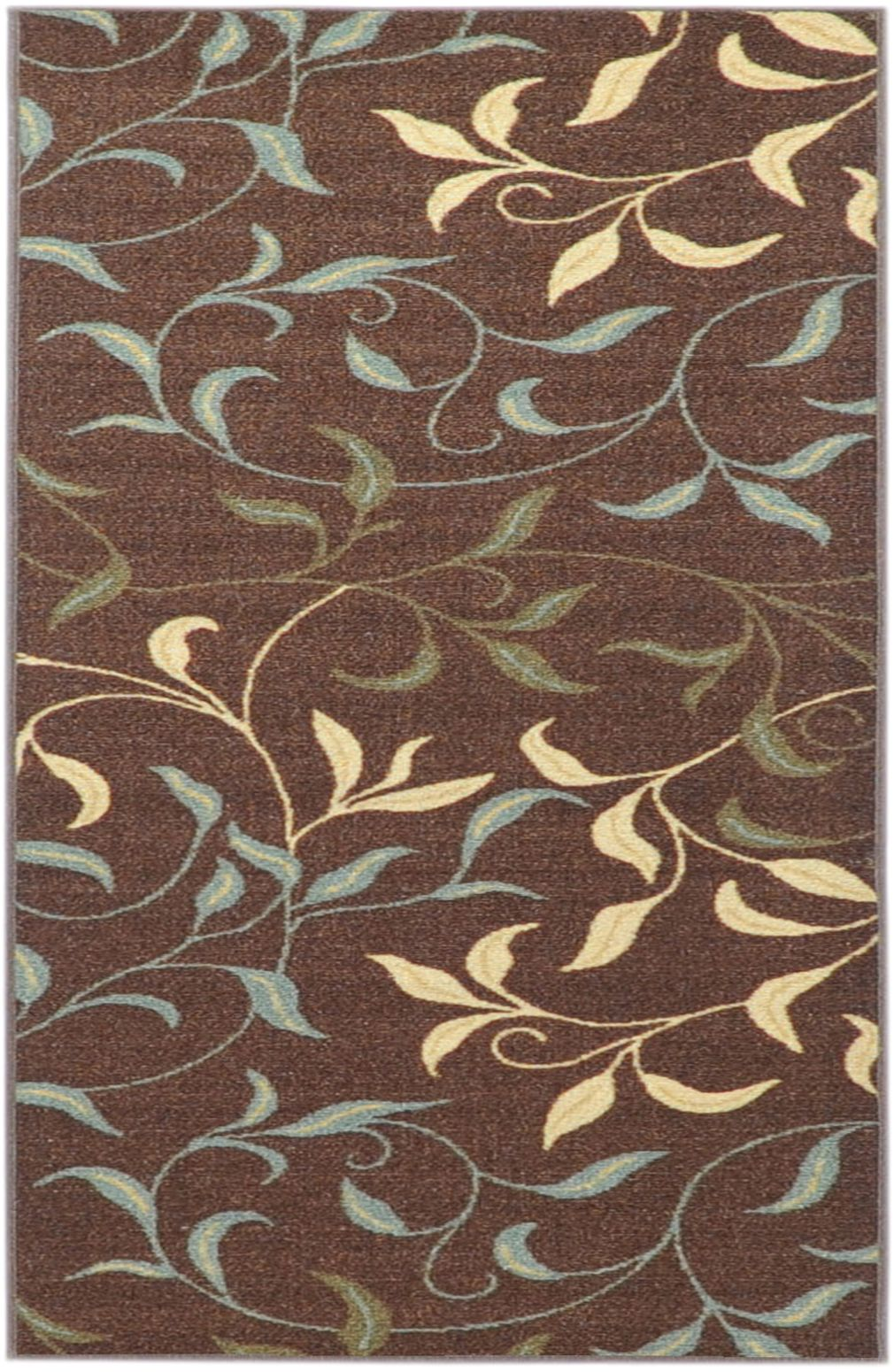 Bathroom rugs with rubber backing - Kitchen Rubber Backed Runner Rugs Rubber Back Non Skid Brown Modern