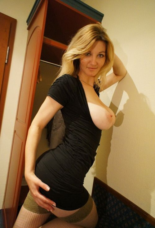 amateur Sexy dress mom