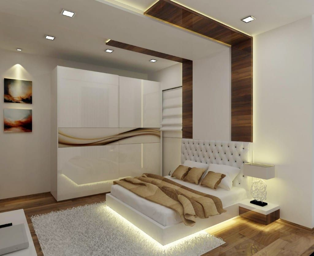 Master Bedroom Modern Style Bedroom By A Design Studio Modern Wood Wood Effect Modern Bedroom Interior Bedroom False Ceiling Design Luxury Bedroom Design