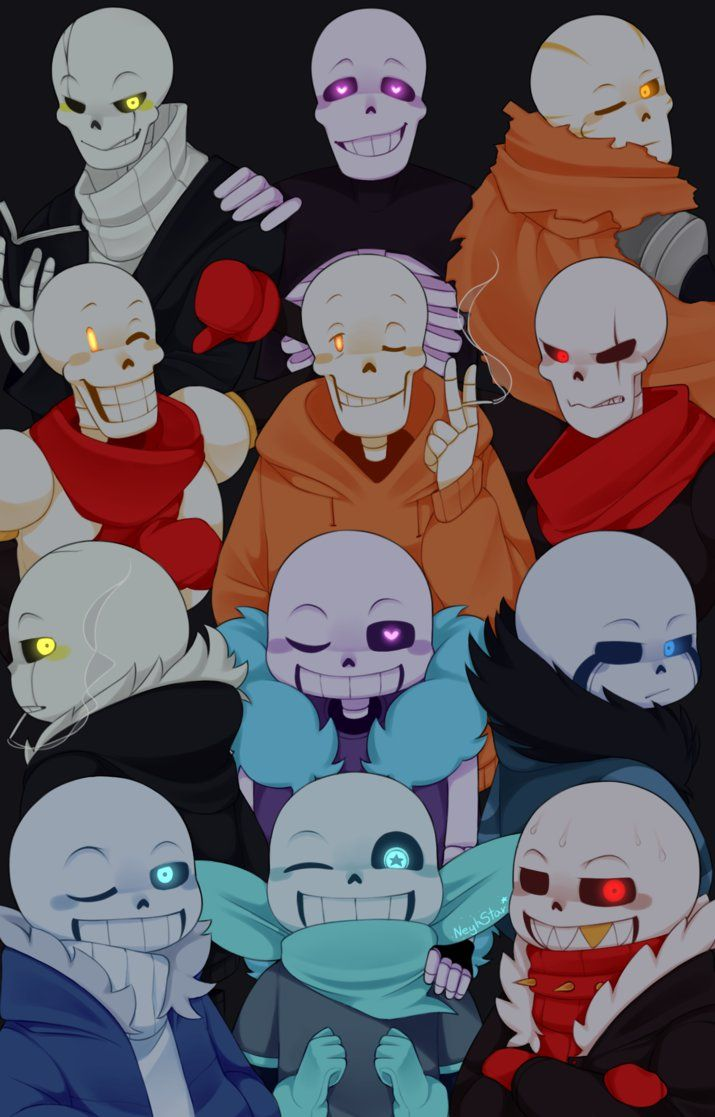 So My Friend Today Asked Me Who My Favorite Sans Au Was But