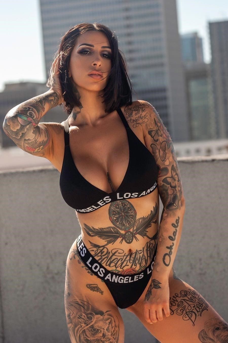 Pin By James South On Tattooed Women  Sexy Tattoos For -9183