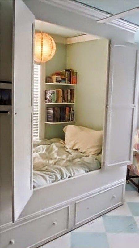 30 inspirations déco pour la chambre : ♡ On aime : La bibliothèque ...