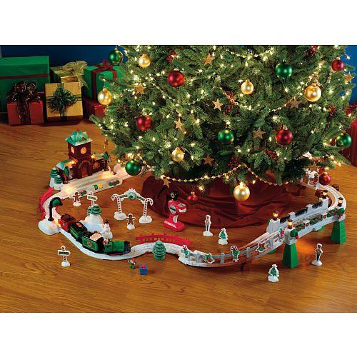Christmas Decorations Train Set