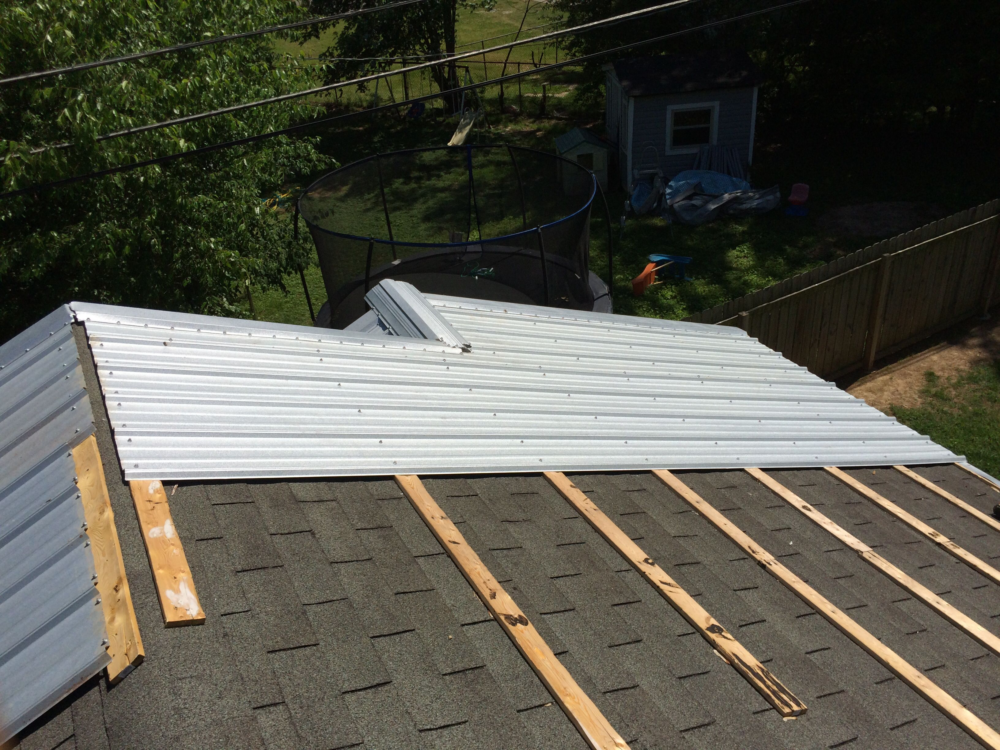 Pin By Christopher Hodges On Metal Roof Galvalume Building A House Metal Roof Roof Shingles