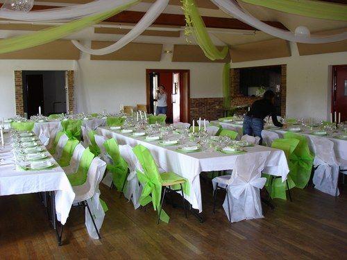Mariage vert anis et blanc mariage vert pinterest - Vert anis et gris ...