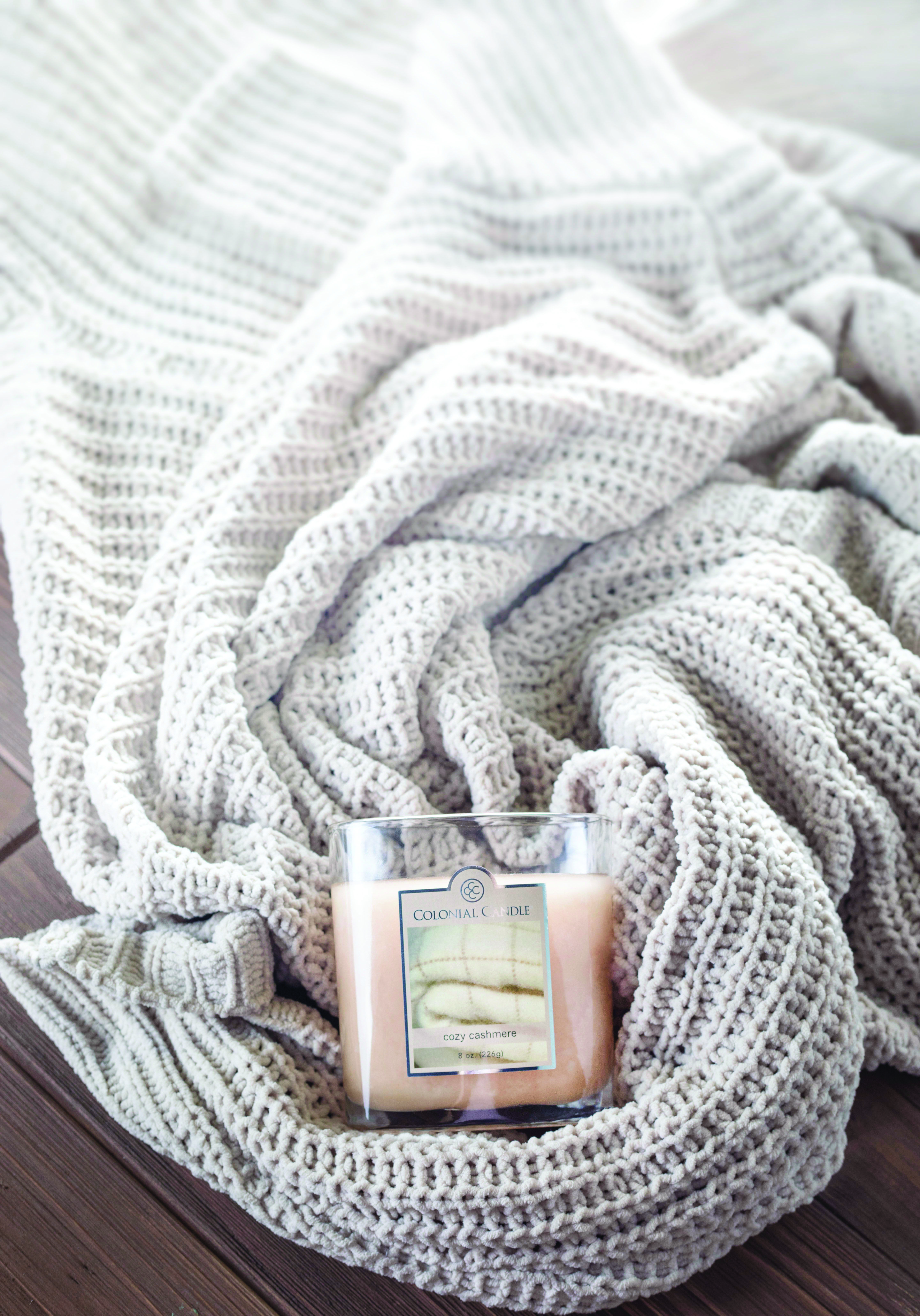 Cozy Cashmere Is Perfect For Lazy Sundays Our Scented Candles Now