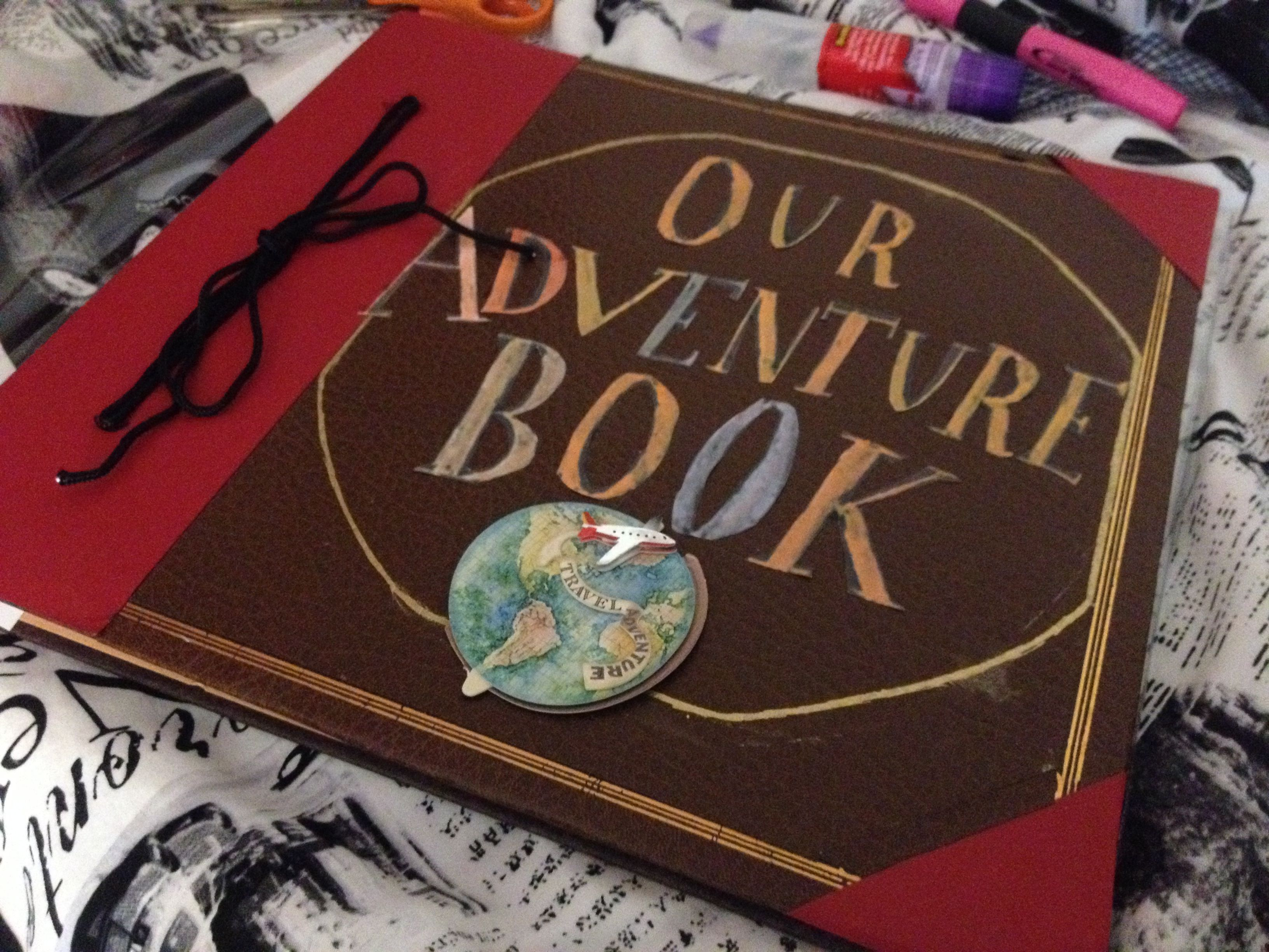 My Own Adventure Book Using A Scrapbooks Bought From Michaels