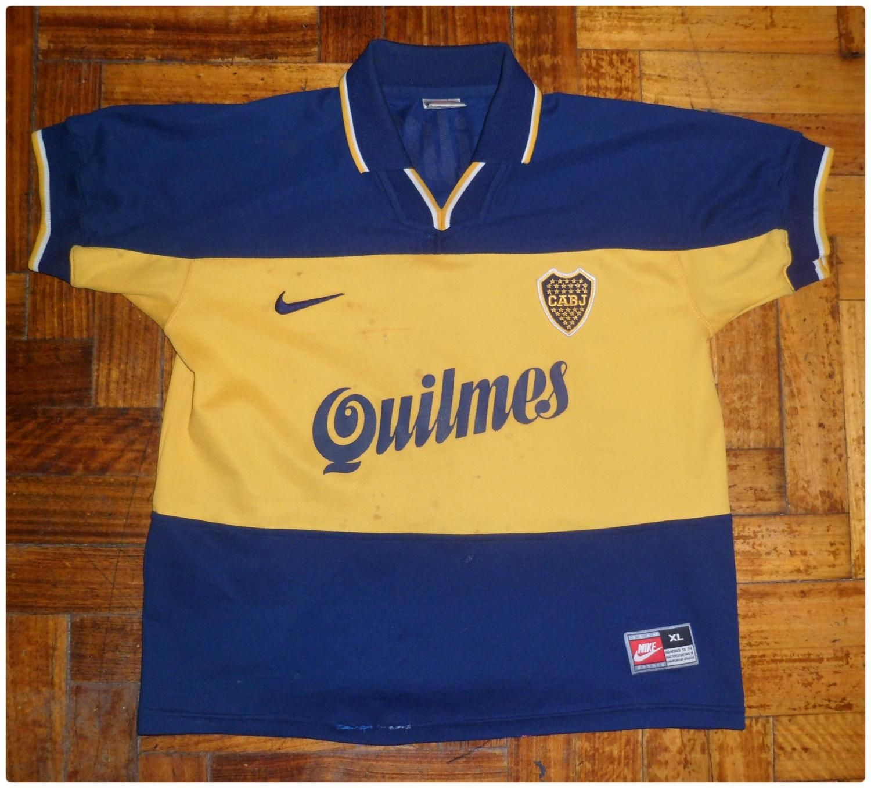competitive price 767d9 5e662 Boca Juniors football shirt 1998 | football team | Football ...