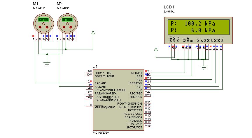 Microcontrolandos: PIC: MPX4115 e MPX4250 pressure sensor ... on