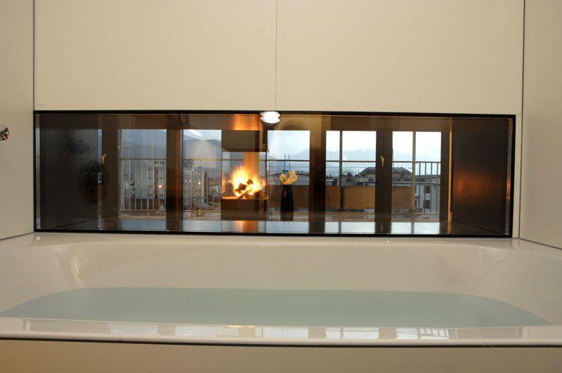 Badewanne mit Ausblick #architecture #interior #bathtub Architekt